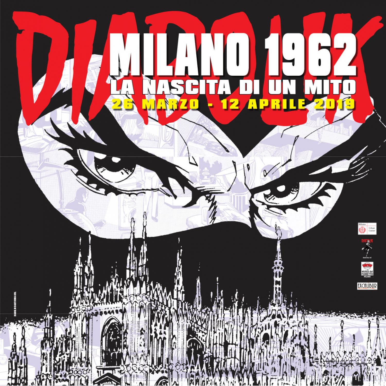 """<p><strong>Dal 26 marzo al 12 aprile 2019 - presso l&rsquo;Urban Center di Milano - sar&agrave; allestita la mostra&nbsp;&quot;<a target=""""_blank"""" href=""""https://www.diabolik.it/index.php"""">Diabolik</a>. Milano 1962: la nascita di un mito&quot;</strong>, realizzata dalla <a target=""""_blank"""" href=""""https://www.diabolik.it/contatti.php"""">casa editrice Astorina</a> in collaborazione con WOW Spazio Fumetto ed <a target=""""_blank"""" href=""""http://www.excaliburmilano.it/"""">Excalibur</a>, editrice dei romanzi di Diabolik. <strong>Marted&igrave; 26 marzo, ore 18.30, si terr&agrave; l&rsquo;inaugurazione aperta al pubblico con una visita guidata speciale a cura di Riccardo Mazzoni</strong>. <strong>Diabolik nasce nel 1962 a Milano. Cos&igrave; come qui erano nate le sue creatrici, Angela e Luciana Giussani</strong>. Diabolik deve quindi molto a Milano: forse non sarebbe stato concepito in un&rsquo;altra citt&agrave;, e forse in un&rsquo;altra citt&agrave; due donne non avrebbero trovato il coraggio di lanciarsi nella folle avventura di editrici di un fumetto per adulti; in un&rsquo;altra citt&agrave;, infine, forse la casa editrice Astorina non sarebbe ancora presente e attiva, oggi come pi&ugrave; di cinquant&rsquo;anni fa. <strong>Apre la mostra un percorso dedicato alla storia delle sorelle Giussani e di Diabolik ed Eva Kant</strong>, che offre uno spaccato di vita della diabolika redazione. Vista la concomitanza con il Salone del Mobile - nato nel 1961, un anno prima di Diabolik - <strong>l&rsquo;esposizione propone un aspetto poco conosciuto della personalit&agrave; del Re del Terrore e della sua inseparabile compagna Eva Kant: il loro interesse per il design</strong>. I visitatori potranno ammirare tavole e disegni originali in cui compaiono rifugi ispirati a grandi architetture (come la casa sulla cascata di Frank Lloyd Wright e la Maison di Louis Carr&eacute; di Alvar Aalto) e oggetti del migliore design italiano (come il televisore Algol di Marco Zanuso e Richard Sapper, la lam"""