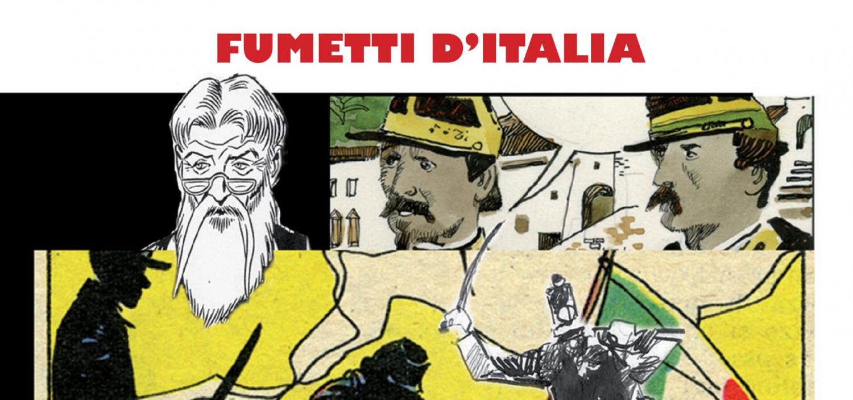 <p>In occasione dei 150 anni dell&#39;Unit&agrave; d&#39;Italia la mostra presenta una selezione di tavole originali di Sergio Toppi, Ivo Milazzo, Carlo Ambrosini e Pasquale Frisenda tratti dal volume &ldquo;150&deg; Storie d&#39;Italia&rdquo; oltre a un excursus su come l&#39;editoria a fumetti ha raccontato la storia del nostro Risorgimento e a un omaggio umoristico al tema.</p>