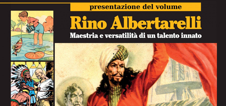 """<p><a href=""""http://http://www.lfb.it/fff/fumetto/aut/a/albertarelli.htm""""><strong>Rino Albertarelli</strong></a> (Cesena, 8 giugno 1908 &ndash; Milano, 22 settembre 1974) &egrave; stato <strong>uno dei padri del fumetto italiano</strong> e senza dubbio uno dei suoi autori pi&ugrave; prestigiosi. Disegnatore autodidatta, ha messo il suo <strong>straordinario talento eclettico</strong> al servizio delle storie a fumetti e dell&rsquo;illustrazione. <strong>Grande interprete del genere avventuroso</strong> in tutte le sue accezioni (si vedano il suo celebre Faust o le sue splendide copertine salgariane), &egrave; noto soprattutto per <strong>aver saputo rendere in modo credibile ed efficace l&rsquo;epopea del West</strong>, che pochi come lui hanno indagato e studiato a fondo (su tutti, il suo indimenticabile Kit Carson e la serie I protagonisti). Fra i promotori e fondatori del Salone Internazionale dei Comics di Bordighera, a testimonianza del suo <strong>impegno culturale nei confronti del fumetto</strong>, &egrave; stato il primo Presidente del Salone dei Comics di Lucca. Gioved&igrave; 28 maggio alle ore 18:00 verr&agrave; presentato il volume &quot;Rino Albertarelli - Maestria e versatilit&agrave; di un talento innato&quot; pubblicato da <a href=""""http://www.amicidelfumetto.it/"""">Anafi</a>, Associazione Nazionale Amici del Fumetto e dell&#39;Illustrazione,&nbsp;<strong>320 pagine a colori</strong>&nbsp;ricchissime di saggi e interventi originali, con un&rsquo;ampia selezione di storie e illustrazioni, anche inedite, oltre a un ricco apparato crono-bibliografico. Prezzo al pubblico di euro 40,00, acquistabile al bookshi&igrave;op di WOW Spazio Fumetto. Interverranno <strong>Ario Albertarelli</strong> - figlio di Rino <strong>Luciano Tamagnini</strong> -curatore del volume <strong>Alfredo Castelli</strong> - sceneggiatore e storico del fumetto Indroduce&nbsp;<strong>Paolo Gallinari</strong>, presidente Anafi</p>"""