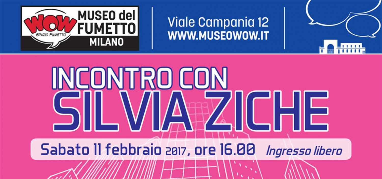 """<p><a target=""""_blank"""" href=""""http://www.silviaziche.com/""""><strong>Silvia Ziche</strong></a> &egrave; la <strong>disegnatrice pi&ugrave; famosa di Topolino e Paperino</strong>. Tutte le settimane &egrave; una sua divertentissima <strong>vignetta</strong> ad aprire il settimanale <strong><em>Topolino</em></strong>, commentando i temi del numero ma anche a volte argomenti di attualit&agrave;. Il suo tratto inconfondibile e deformato la rende l&#39;illustratrice perfetta per le storie folli scritte da <strong>Tito Faraci</strong> o, pi&ugrave; di recente, da <strong>Sio</strong>, la star di webcomics e youtube, autore dei fumetti di Scottecs. Insieme allo sceneggiatore Marco Bosco ha realizzato una serie di storie dedicate alle<strong> papere di Paperopoli</strong> &ndash; Paperina, Brigitta, Nonna Papera e Miss Paperett &ndash; che da comprimarie diventano protagoniste di divertenti avventure all&#39;insegna del <em>girl power</em>.</p><p>&nbsp;<p>Ma Silvia Ziche ha anche un&#39;importante carriera come <strong>autrice completa</strong>. &Egrave; lei, infatti, a scrivere e disegnare lunghissime saghe demenziali come &ldquo;Topokolossal&rdquo;, la &ldquo;Papernovela&rdquo;, &ldquo;Il Grande Splash&rdquo; o &ldquo;Paperina di Rivondosa&rdquo;, pietre miliari dell&#39;<strong>umorismo disneyano</strong>. Instancabile, porta avanti anche dei progetti personali come le tavole e le vignette di Lucrezia, che pubblica sul suo blog e su <em>Donna Moderna</em>. <strong>Sabato 11 febbraio alle ore 16:00</strong>, in occasione della <a href=""""http://www.museowow.it/wow/it/mostra-quattro-volte-paperino/"""">mostra Quattro volte Paperino</a>,&nbsp;Silvia Ziche ripercorrer&agrave; il suo lavoro per il settimanale Topolino (ma non solo) in un incontro aperto al pubblico, in compagnia di Maria-Angela Silleni, collaboratrice del sito Lo Spazio Bianco. Seguir&agrave; una <strong>sessione di dediche e disegni</strong>. Presso il bookshop di WOW Spazio Fumetto sar&agrave; possibile acquistare i"""