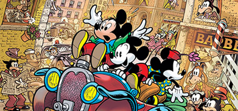 """<p><strong>Topolino</strong> <strong>nasce il 18 novembre del 1928</strong>, quando nella sala del <strong>Colony Theatre di New York</strong> viene proiettato per la prima volta il cortometraggio <em>Steamboat Willie</em>. Creato da <strong>Walt Disney</strong> e <strong>Ub Iwerks</strong>, e successivamente sviluppato da <strong>Floyd Gottfredson</strong>, <strong>Topolino</strong> diviene in breve tempo uno dei personaggi di fumetti e cartoni animati pi&ugrave; amati al mondo, nonch&eacute; icona della stessa <a target=""""_blank"""" href=""""https://thewaltdisneycompany.com/""""><strong>Walt Disney Company</strong></a>. Per festeggiare <strong>l&#39;89&deg; compleanno di Topolino</strong>, <strong>sabato 18 novembre alle ore 16:30, WOW Spazio Fumetto</strong> organizza un incontro con <a target=""""_blank"""" href=""""http://www.massimobonfatti.it/""""><strong>Massimo Bonfatti</strong></a> e, in collegamento via Skype, <strong>Andrea &ldquo;Casty&rdquo; Castellan</strong>, che presenteranno la loro storia celebrativa <em>Tutto questo accadr&agrave; ieri</em>. <strong>L&rsquo;opera</strong>, scritta da Casty e disegnata a quattro mani dagli stessi Casty e Bonfatti in occasione <strong>dell&rsquo;87&deg; anniversario della creazione di Topolino</strong>, racconta di una grande avventura in cui il <strong>Mickey Mouse contemporaneo</strong> si ritrova a viaggiare nel tempo in compagnia di un suo <strong>corrispettivo classico</strong>. Una storia pubblicata su <em>Topolino 3130</em> e ora raccolta in un volume pubblicato da <a target=""""_blank"""" href=""""http://comics.panini.it/""""><strong>Panini Comics</strong></a>. Guest star dell&#39;evento sar&agrave; <strong><a target=""""_blank"""" href=""""http://www.lfb.it/fff/fumetto/aut/s/silver.htm"""">Silver</a>,</strong> creatore di <em>Lupo Alberto</em> e grande appassionato di <strong>fumetto Disney</strong>. In occasione dell&#39;incontro, <strong>Bonfatti</strong> presenter&agrave; anche il volume <strong><em>I girovaghi</em></strong>, pubblicato da <a targe"""