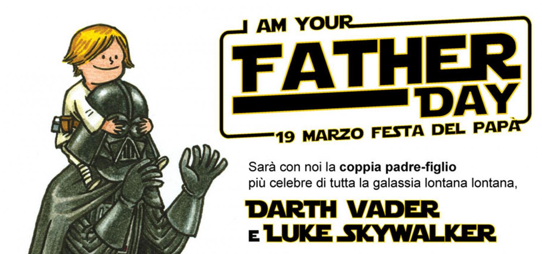 """<p>Ospite speciale (tapiro permettendo): Valerio Staffelli, grande appassionato e collezionista Star Wars</p><p>Diventata un vero e proprio simbolo per tutti gli appassionati della saga stellare pi&ugrave; amata di sempre, la battuta &ldquo;I am your father!&rdquo; (Io sono tuo padre!), pronunciata da <strong>Darth Vader</strong> in <em>L&#39;Impero colpisce ancora</em> per rivelare a <strong>Luke</strong> la sua vera identit&agrave;, sar&agrave; il motto dell&rsquo;inaugurazione della mostra <a target=""""_blank"""" href=""""http://www.museowow.it/wow/mostra-star-wars-dal-fumetto-al-cinema-e-ritorno/""""><strong>STAR WARS: DAL FUMETTO AL CINEMA&hellip; E RITORNO</strong></a>, che inaugura proprio il <strong>19 marzo</strong>, giorno della Festa del Pap&agrave;. Per celebrare come si conviene la ricorrenza <strong>WOW Spazio Fumetto</strong>, grazie alla collaborazione della <a target=""""_blank"""" href=""""http://www.501italica.com/""""><strong>501st Legion Italica Garrison</strong></a> e della <a target=""""_blank"""" href=""""http://www.rebellegion.com/italian-base/""""><strong>Rebel Legion Italian Base</strong></a>, i due gruppi ufficiali di <strong>costuming</strong> <strong>Star Wars</strong>, ospiter&agrave; proprio la coppia padre-figlio pi&ugrave; celebre di tutta la galassia lontana lontana: Darth Vader e Luke Skywalker, accompagnati da altri figuranti rappresentanti eroi della saga tra imperiali e ribelli disponibili per <strong>foto ricordo</strong>! Ospite speciale, tapiro permettendo, sar&agrave; <a target=""""_blank"""" href=""""http://www.valeriostaffelli.it/""""><strong>Valerio Staffelli</strong></a>, grande appassionato e collezionista Star Wars che racconter&agrave; al pubblico come &egrave; nata la sua passione. Il pianista<strong> <a target=""""_blank"""" href=""""http://fabriziospaggiari.it/"""">Fabrizio Spaggiari</a></strong> interpreter&agrave; al piano i temi pi&ugrave; belli della mitica <strong>colonna sonora</strong> composta da John Williams: dal famosissimo &ldquo;Main Title&rdquo; alla &ldquo;"""