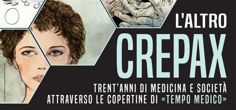 """<p>In concomitanza con la mostra &ldquo;<a href=""""http://www.museowow.it/wow/it/guido-crepax-in-mostra/"""">L&rsquo;altro Crepax &ndash; 30 anni di Clinicommedie su Tempo Medico</a>&rdquo; presso WOW Spazio Fumetto, <strong>l&rsquo;<a target=""""_blank"""" href=""""http://www.unimi.it/"""">Universit&agrave; degli Studi di Milano</a> propone un inedito percorso attraverso <a target=""""_blank"""" href=""""http://www.lfb.it/fff/scienza/test/t/tm.htm"""">le innumerevoli copertine della rivista Tempo Medico realizzate da Guido Crepax</a></strong>. Nelle illustrazioni, riprodotte su grandi pannelli e abbinate agli articoli di copertina, compaiono molte <strong>personalit&agrave; fondamentali della medicina italiana</strong>, ma anche le interpretazioni visive di alcune tematiche cardine come le riforme del Servizio Sanitario Nazionale o l&rsquo;utilizzo del placebo. Viene cos&igrave; a disegnarsi una rappresentazione del sapere medico contemporaneo che rispecchia il parallelo sviluppo della societ&agrave; civile. Grazie alle sue sottili abilit&agrave; ritrattistiche e compositive, <strong>Crepax ci guida lungo le pi&ugrave; importanti innovazioni della ricerca e delle prassi cliniche</strong>, la multiformit&agrave; delle professioni e specializzazioni sanitarie, le relazioni paziente-medico-comunit&agrave;, ma anche gli intrecci epocali fra traguardi della salute collettiva, vita della popolazione e senso di cittadinanza. La mostra, a ingresso libero, ospitata nei prestigiosi spazi della Loggia del Rettorato in via Festa del Perdono 7, &egrave; allestita da WOW Spazio Fumetto e Universit&agrave; degli Studi di Milano, con la collaborazione di Zadig e Archivio Crepax e con la sponsorizzazione tecnica di Pixartprinting. La mostra si compone di <strong>18 grandi installazioni che riproducono tutte le 204 copertine di Tempo Medico disegnate da Guido Crepax</strong> e le 2 per la rivista &ldquo;figlia&rdquo; Tempo di Farmacia, accompagnate dagli articoli dedicati ai &ldquo;copertinati&rdquo; pi&ugrave;"""