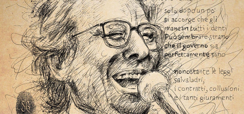 """<p>Una mostra con pi&ugrave; di 50 tavole illustrate dai principali fumettisti italiani, un&rsquo;asta benefica, incontri e serate. Dal 10 dicembre (inaugurazione ore 18) al 15 gennaio, al Castello Sforzesco di Milano rivivono, con un intento solidale, i protagonisti delle canzoni di Enzo Jannacci. Dopo il grande successo della mostra &ldquo;<a target=""""_blank"""" href=""""http://www.postcardcult.com/articolo.asp?id=6299&amp;sezione=61"""">La mia gente. Enzo Jannacci, canzoni a colori</a>&rdquo;, ospitata nel nostro museo e che richiam&ograve; nel 2013 migliaia di visitatori, le canzoni di Jannacci, infatti, tornano a rivivere. A colori e in grande formato. &ldquo;<a target=""""_blank"""" href=""""https://www.facebook.com/Gente-daltri-tempi-Enzo-Jannacci-nuove-canzoni-a-colori-1486432414985125/?fref=ts"""">Gente d&rsquo;altri tempi. Enzo Jannacci, nuove canzoni a colori</a>&rdquo; &egrave; il titolo della nuova mostra curata da Davide Barzi e Sandro Pat&eacute;, organizzata insieme a <a target=""""_blank"""" href=""""http://www.blogdetenis.it/"""">Scarp de&rsquo; tenis</a>, <a target=""""_blank"""" href=""""http://www.caritasambrosiana.it/"""">Caritas Ambrosiana</a> e <a target=""""_blank"""" href=""""https://www.comune.milano.it/"""">Comune </a><a target=""""_blank"""" href=""""https://www.comune.milano.it/"""">di Milano</a> con il sostegno di <a target=""""_blank"""" href=""""http://www.fondazionecariplo.it/"""">Fondazione Cariplo</a> ed <a target=""""_blank"""" href=""""https://www.eticasgr.it/"""">Etica Sgr</a>. Un&rsquo;iniziativa che intende onorare, ancora una volta, il grande artista milanese, ricordando come sia stato cantore, per mezzo secolo, della Milano e dell&rsquo;Italia dei margini sociali, delle periferie geografiche ed esistenziali, di biografie sfortunate, stralunate, trascurate.</p><p>La mostra raccoglie il contributo di pi&ugrave; di cinquanta grandi fumettisti, illustratori e artisti italiani, ciascuno impegnato con una delle canzoni del vasto repertorio jannacciano. Pi&ugrave; di cinquanta tavole originali e in grande formato faranno r"""