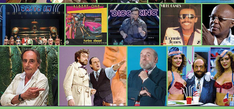 """<p><strong>Gli anni Ottanta hanno formato il nostro immaginario</strong>, con film e cartoni animati ancora amatissimi, ma anche con l&rsquo;esplosione delle reti televisive private e la nascita di moltissimi <strong>programmi diventati di culto</strong>. Uno dei pi&ugrave; amati fu certamente <em><strong>Drive In</strong></em>, ideato da Antonio Ricci e trasmesso su Italia 1 dal 1983 al 1988, che ospitava alcuni dei <strong>comici pi&ugrave; famosi del periodo</strong>: Gianfranco D&rsquo;Angelo, che imitava vip come Pippo Baudo, Sandra Milo, Raffaella Carr&agrave; o il politico Gianni de Michelis; Ezio Greggio, celebre per gli sketch dell&rsquo;Asta Tosta e Spetteguless; Giorgio Faletti, che interpretava tra gli altri la guardia giurata Vito Catozzo e l&rsquo;adolescente Carlino; e ancora Enrico Beruschi, Zuzzurro e Gaspare, Margherita Fumero, Carlo Pistarino, il paninaro Enzo Braschi, Massimo Boldi, Teo Teocoli e molti altri. Nel frattempo, dalle discoteche italiane si diffondeva il fenomeno della <strong>italo-disco</strong>, che con i suoi tormentoni arriv&ograve; presto a conquistare le piste da ballo di mezzo mondo. Gazebo, Scotch, Sandy Marton, Righeira, Albert One, Diana Est, Lu Colombo raggiungono in breve tempo il successo &ndash; a volte per altrettanto breve tempo &ndash; con ritmi sincopati, sonorit&agrave; elettroniche e canzoni divertenti e leggere. Per orientarci in questo mondo variegato e ricordare i fenomeni pi&ugrave; interessanti della prima met&agrave; degli anni Ottanta, WOW Spazio Fumetto&nbsp;insieme a <strong><a target=""""_blank"""" href=""""http://onetvnbc.wixsite.com/onetv"""">One TV</a> </strong>(canale 112 del digitale terrestre) e <strong><a target=""""_blank"""" href=""""https://www.wscm.it/"""">Micromedia Communications</a></strong> organizza una <strong>serata talk-show</strong> gioved&igrave; 7 settembre 2017 alle ore 21:00, in occasione della mostra <a href=""""http://www.museowow.it/wow/it/anni-ottanta-in-mostra/"""">Ottanta Nostalgia</a>,&nbsp;allestita fi"""
