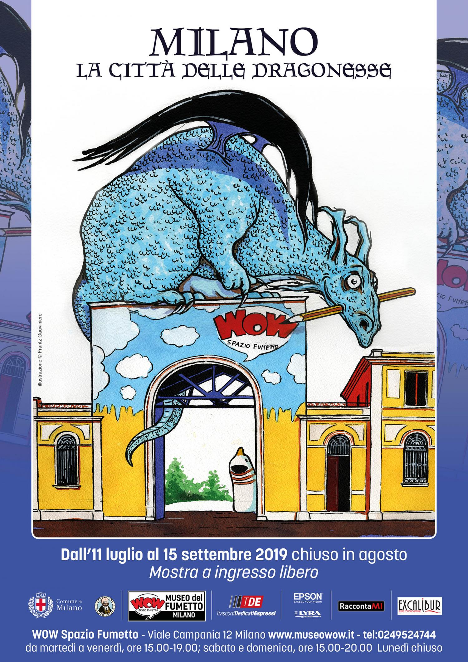 <p>A levante di Milano oggi corre il fiume Serio. Scivola via tra le ondulazioni del terreno fino ad incontrare gli ampi meandri del fiume Adda, dove un tempo giaceva disteso sulla pianura un vasto specchio d&rsquo;acqua dalle rive paludose: il lago Gerundo. La leggenda vuole che le sue acque quasi stagnanti fossero solcate da animali giganteschi e inquietanti, rassomiglianti a enormi bisce d&rsquo;acqua. Ma un tempo i contadini affermavano invece che si trattasse di <strong>dragoni con zampe e ali</strong>, o meglio di un solo drago secolare chiamato Tarant&agrave;sio. In realt&agrave; di Tarant&agrave;sio ce n&rsquo;erano pi&ugrave; d&rsquo;uno e sarebbe stato meglio chiamarli Tarant&agrave;sia, perch&eacute; pare fossero tutte femmine. Ma ecco che un giorno accade qualche cosa di decisamente insolito: la terra si muove verso l&rsquo;alto come spinta da talpe gigantesche. Fa capolino qui e l&agrave; un muso rugoso e appuntito, sormontato da grandi narici squamose. Spuntano occhi grandi e tondi seguiti da tutta la testa, dal lungo collo e dalle zampe artigliate. Escono un po&rsquo; sonnolenti i dragoni, o per meglio dire le <strong>Dragonesse</strong>, stiracchiandosi ben benino fino alla coda. Dopo i primi sguardi un po&rsquo; spaesati e un grande sbattere di ciglia e d&rsquo;ali, questa sorta di dinosauri celesti prende il volo sollevandosi in ampi cerchi sulla pianura. Sbuffano dalle narici e dalla grande bocca un fiato denso, color del fumo, quello che gli antichi contadini chiamavano &ldquo;Alito del Drago&rdquo;. E in questa specie di nebbia caliginosa che il loro ansimare genera, planano ad ovest, verso Milano. Da questo spunto nasce il volume &ldquo;<strong>Milano. La citt&agrave; delle dragonesse</strong>&rdquo;. Le Dragonesse ci raccontano storie poco note e talvolta sconosciute inducendoci alla riflessione. Ognuna di loro ora si &egrave; scelta una casa: chi l&#39;Arco della Pace, chi l&#39;Arena, chi le Colonne di San Lorenzo, chi il Rifugio antiaereo n