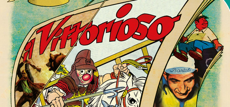 """<p><strong>E&#39; di 81 anni fa, e pi&ugrave; precisamente del gennaio 1937, il primo numero de <a target=""""_blank"""" href=""""http://www.lfb.it/fff/fumetto/test/v/vittorioso.htm"""">Il Vittorioso</a>: lo storico giornale a fumetti cattolico che per trent&rsquo;anni ha accompagnato i ragazzi, lanciando grandi artisti della Nona Arte - come Benito Jacovitti - stabilendo un filo diretto con i lettori e accompagnando i ragazzi a scuola con il celeberrimo Diario Vitt.</strong> <strong>WOW Spazio Fumetto, in collaborazione con l&rsquo;Associazione Amici del Vittorioso, propone una mostra a ingresso libero che dal 2 giugno al 29 luglio espone i numeri e le pagine pi&ugrave; significative di un percorso editoriale fondamentale per la storia dell&rsquo;editoria per ragazzi. Grazie ai materiali provenienti dall&rsquo;archivio della Fondazione Franco Fossati, dagli eredi degli artisti, dai collezionisti e dai membri dell&rsquo;Associazione sar&agrave; possibile ammirare il mitico numero 1, i numeri pi&ugrave; importanti della lunga vita editoriale del settimanale, splendide tavole originali dei maggiori collaboratori del Vitt e ripercorrere le rubriche e i momenti fondamentali di trent&rsquo;anni di storia del fumetto e del Paese.</strong> <strong>Nel gennaio 1937, dopo una forte promozione sulle testate cattoliche dell&rsquo;epoca, vede la luce il primo numero del giornale a fumetti Il Vittorioso</strong>, creato su iniziativa della Giovent&ugrave; Italiana di Azione Cattolica. Il settimanale ha una <strong>concezione inedita</strong>: nato per fare concorrenza al Topolino di Mondadori e all&rsquo;Avventuroso di Nerbini, pubblica racconti e rubriche che si propongono di formare la giovent&ugrave; sulla base dei valori cristiani, che pervadono ogni pagina del settimanale pur senza essere ostentati. Il Vittorioso viene distribuito capillarmente usufruendo del canale &quot;alternativo&quot; delle parrocchie, con vendita &quot;militante&quot; e propaganda degli abbonamenti effettuate neg"""