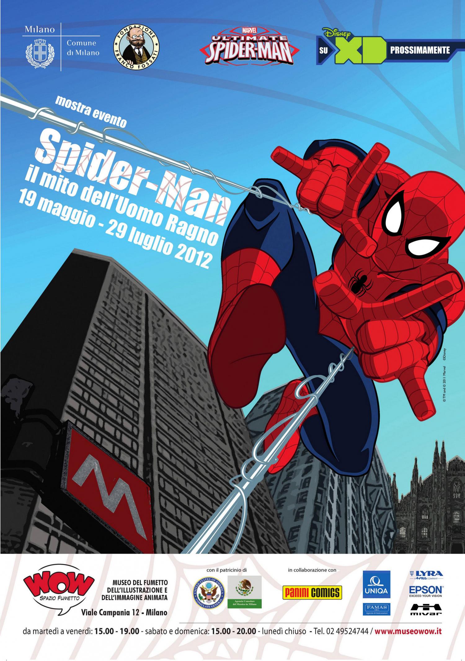<p>I primi 50 anni dell&#39;Uomo Ragno vengono raccontati attraverso le tavole originali dei massimi autori, le storie pi&ugrave; importanti, i film, le serie animate, i videogiochi che l&#39;hanno visto protagonista. La mostra &egrave; aperta da Amazing Fantasy 15, il primo albo di Spider-Man, e chiusa dalla copertina celebrativa realizzata da Humberto Ramos per il numero di agosto 2012 di Amazing Spider-Man.</p>