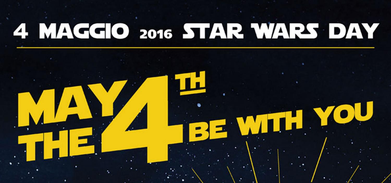 """<p>Per decisione dello stesso George Lucas, creatore della saga, <strong>il 4 maggio &egrave; stato nominato Star Wars Day</strong>, giornata che in tutto il mondo vede i fans di Star Wars radunati per festeggiare la loro passione. Non si tratta di una scelta casuale ma dettata da un curioso gioco di parole basato sull&rsquo;assonanza del famoso motto &ldquo;<strong>May the Force be with you</strong>&rdquo; (Che la Forza sia con te!) con la pronuncia inglese della data 4th May, ossia &ldquo;May the fourth&rdquo; (be with you). WOW Spazio Fumetto &ndash; Museo del Fumetto di Milano non si sottrae all&rsquo;obbligo istituzionale di festeggiare questa data importante con un evento speciale: <strong>mercoled&igrave; 4 maggio la mostra<a href=""""http://http://www.museowow.it/wow/it/mostra-star-wars-dal-fumetto-al-cinema-e-ritorno/""""> STAR WARS: dal fumetto al cinema&hellip; e ritorno</a> sar&agrave; aperta eccezionalmente fino a mezzanotte</strong>. Il museo, <strong>tra le tappe ufficiali dello <a target=""""_blank"""" href=""""http://starwarsday.it/"""">Star Wars Day</a></strong>, sar&agrave; l&#39;ultima tappa milanese delle <strong>Star Wars Car</strong>, tra le 20:00 e le 24:00. Durante la serata il maestro <strong><a target=""""_blank"""" href=""""http://fabriziospaggiari.it/"""">Fabrizio Spaggiari</a></strong> eseguir&agrave; al <strong>pianoforte</strong> alcuni celebri brani della colonna sonora di Star Wars. E sempre dalle 20.00 alle 24.00, grazie alla collaborazione di <a target=""""_blank"""" href=""""http://www.giochiuniti.it/""""><strong>Giochi Uniti</strong></a>, i visitatori potranno cimentarsi gratuitamente in tornei e dimostrazioni dei quattro&nbsp;giochi da tavolo pi&ugrave; amati dai fans della saga: <strong>Star Wars: X-Wing</strong>, <strong>Star Wars: Armada</strong>, <strong>Carcassonne: Star Wars</strong> e <strong>Star Wars: Il Gioco di Carte</strong>. <strong>Star Wars: X-Wing</strong> &egrave; un frenetico gioco di combattimento tattico spaziale ambientato nell&rsquo;universo di St"""