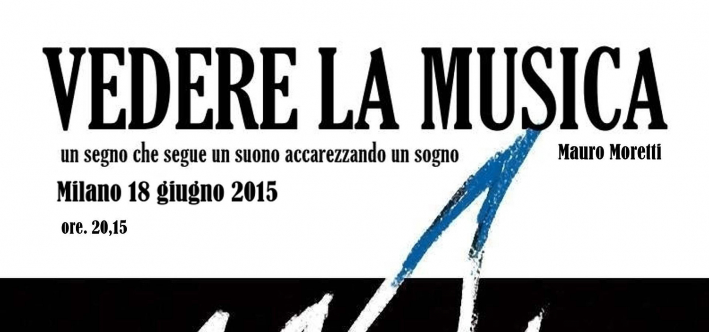 <p><strong>Mauro Moretti</strong>, fumettista, illustratore e storyboarder,&nbsp;porta finalmente a Milano, sua citt&agrave; natale, il suo spettacolo &quot;Vedere la musica&quot;: una serata di suggestioni musicali e visive, in cui&nbsp;i suoi disegni rapidissimi illustrano celebri brani musicali, creando intrecci profondi tra ci&ograve; che si vede e ci&ograve; che si sente. Tra i brani che verranno illustrati, la &quot;Rapsodia in Blu&quot; di George Gershwin&nbsp;e le canzoni pi&ugrave; celebri di artisti italiani come Ligabue, De Andr&eacute;, Ruggeri e Dalla. Mauro Moretti lavora da&nbsp;circa 30 anni nel campo dell&#39;illustrazione pubblicitaria e del fumetto. Ha realizzato storie per il <em>Corriere dei Piccoli</em>, il <em>Corriere dei Ragazzi</em>, <em>Boy Music</em>, <em>Il Mago</em> e <em>Il mucchio selvaggio</em>. Inoltre &egrave; stato autore de &quot;La compagnia dei gufi&quot;, interessante esperimento di fumetto interattivo. A questa attivit&agrave; affianca da anni la produzione di storyboard per le maggiori agenzie pubblicitarie e ha realizzato i video musicali animati per l&#39;album &quot;Hollywood Hollywood&quot; di Roberto Vecchioni.</p>