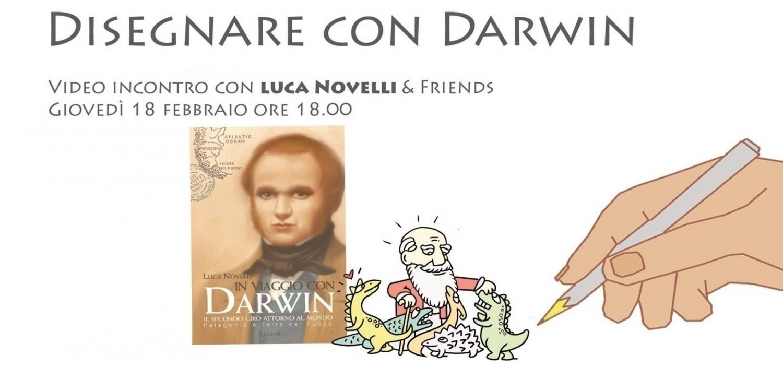 """<p><strong>Charles Darwin, l&#39;origine dell&#39;uomo, l&#39;indagine sulla natura, l&#39;evoluzione delle specie animali e dell&#39;uomo</strong>: temi affascinanti che spesso si conoscono solo superficialmente, e sulla cui interpretazione hanno influito preconcetti poco scientifici. <strong>Da anni Luca Novelli d&agrave; voce ed espressione alla comunicazione della scienza</strong>. Con libri illustrati, trasmissioni televisive, fumetti e laboratori didattici ha raggiunto milioni di ragazzi e di adulti in tutto il mondo.<br /><strong>Gioved&igrave; 18 febbraio alle 18:00 a WOW Che Aperitivo</strong> &ndash; la rubrica di incontri sulla pagina facebook di WOW Spazio Fumetto &ndash; ci faremo raccontare da Luca Novelli come ha seguito le orme di Darwin nel mondo e come si possa disegnare e portare a tutti un simile scienziato! L&rsquo;iniziativa si svolge nei giorni del Darwin Day, la celebrazione internazionale in onore di Charles Darwin che si tiene in occasione dell&#39;anniversario della sua nascita, il 12 febbraio.</p><p><a target=""""_blank"""" href=""""https://www.lucanovelli.info/""""><strong>Luca Novelli</strong></a> (Milano, 1947). Ecologo per formazione e convinzione, scrittore, disegnatore impenitente, giornalista e autore tv. &nbsp;I suoi libri di scienze per ragazzi sono pubblicati in 28 lingue, compreso l&rsquo;arabo, il parsi, il russo e il giapponese. Dopo <em>Il Primo libro sui computer</em> (Mondadori, 1983) si &egrave; sempre occupato di divulgazione. Tra il 2005 e il 2009 ha compiuto quattro viaggi intorno al mondo per riscrivere il percorso fatto da Darwin a bordo del Beagle. Dal progetto sono nati i tre volumi di <em>In viaggio con Darwin</em> (Rizzoli). Per Editoriale Scienza, nel 2000, ha dato inizio alla serie <em>Lampi di Genio</em> con le biografie di Darwin ed Einstein. Oggi la collana comprende ventidue personaggi e ha dato luogo alla serie televisiva <em>Lampi di genio in tv</em>. Il 20&deg; titolo della collana (<em>Hawking e il mistero dei buch"""