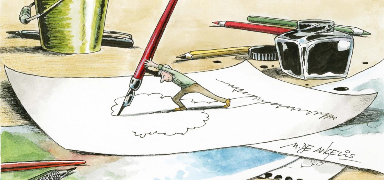 <p><strong>Il percorso di WOW Spazio Fumetto alla scoperta delle migliori firme dell&rsquo;umorismo italiano prosegue con una mostra personale dedicata a Marco De Angelis:&nbsp;disegnatore umorista pluripremiato, illustratore, giornalista professionista e grafico. Le sue opere sono state pubblicate su oltre 200 giornali in Italia e all&rsquo;estero e sono state esposte in tutto il mondo.</strong></p><p>&nbsp;</p><p>Quello di Marco De Angelis &egrave; un percorso che comincia con la partecipazione a una mostra internazionale nel 1972, per poi iniziare a pubblicare dal 1975, intraprendendo un&rsquo;intensa attivit&agrave; professionale (a fianco di quella di giornalista, iniziata nel 1980) che lo ha portato a pubblicare su oltre duecento giornali italiani e stranieri, a illustrare moltissimi libri e a ricevere oltre 130 premi in Italia e all&rsquo;estero.</p><p><strong>L&#39;esposizione si snoda attraverso temi centrali dei nostri tempi:</strong> ambiente, guerra e pace, amore, politica e societ&agrave;, scienza e cultura. Una scelta motivata dall&rsquo;esigenza di mantenere un ordine tra gli innumerevoli soggetti trattati, delineando un ritratto dell&rsquo;attualit&agrave; attento, ironico e impietoso. Il commento grafico senza parole, costituito da metafore, paradossi e situazioni surreali, si rivela essere qui un vero pezzo giornalistico, un articolo fatto di immagini, che arriva dritto al cuore:&nbsp;facendo ridere, oppure sorridere a denti stretti, ma sempre facendo pensare e ragionare.&nbsp;</p><p>La mostra raccoglie circa <strong>130 tra disegni satirici e illustrazioni originali</strong> degli ultimi anni (ma anche qualche lavoro degli anni Novanta) e, in aggiunta, un centinaio di altre opere presenti in una videogallery: &egrave; una selezione della sua pi&ugrave; recente produzione, che ha alle spalle migliaia e migliaia di disegni: vignette di attualit&agrave;, illustrazioni per libri, per quotidiani, per riviste e per programmi televisivi, fino alle ultime